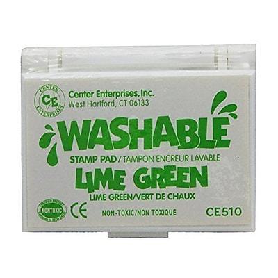 Center Enterprises® Washable Stamp Pad, Lime Green (CE-510)