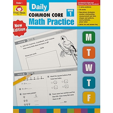 Evan-Moor Daily Math Practice Book