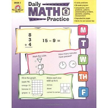 Evan-Moor® Daily Math Practice Book, Grades 2nd