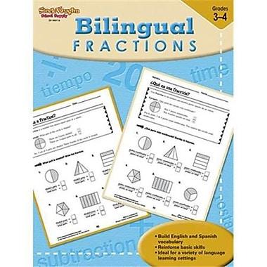 Harcourt Steck-Vaughn Bilingual Math Fractions Book, Grades 3rd - 4th