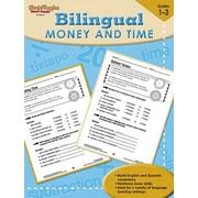 Harcourt Steck-Vaughn Bilingual Math Money and Time Book, Grades 1st - 3rd