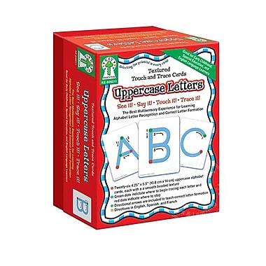 Key Education Publishing ? Cartes tactiles majuscules Touch And Trace Card, Uppercase Letters, de 1re à 3e primaire (KE-846011)