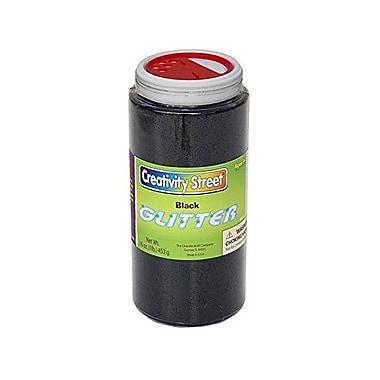 Chenille Craft® Black Glitter Shaker Jar, 1 lbs.