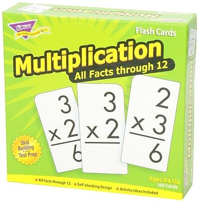 Trend Enterprises® Skill Drill Flash Cards, Multiplication 0 - 12 All Fact