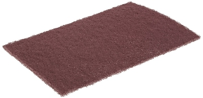 Norton™ Maroon AO General Purpose Bear-Tex Hand Pad, 9 in (L), 6 in (W), Very Fine