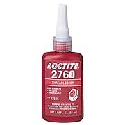 Loctite® 2760™ Threadlocker, Primerless High Strength, Red, 50 mL