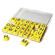 Educational Insights Jumbo Stamps, Uppercase Letters