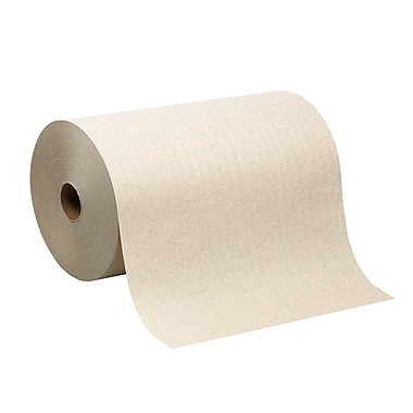 enMotion® Hardwound Recycled Paper Towel Rolls, Natural, 1-Ply, 6 Rolls/Case