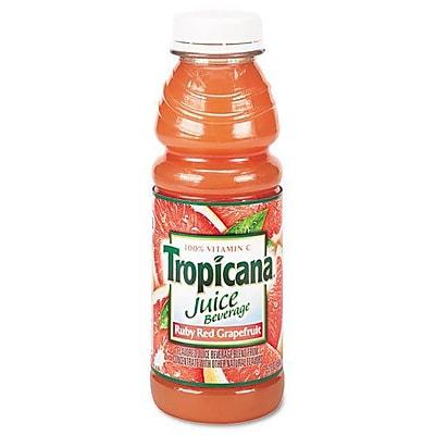 Tropicana® Ruby Red Grapefruit Juice, 10 oz. Bottles, 24/Case