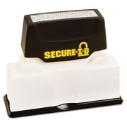 Cosco® Secure I-D Security Stamp, Black Ink