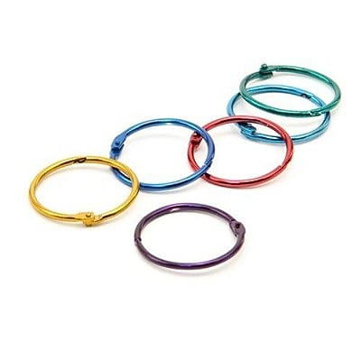 Hygloss® Book Ring Pack, 1 1/2