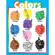 Teacher Created Resources® Colors Chart, Grades 1st - 3rd