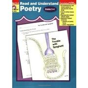 Evan-Moor® Read and Understand Poetry, Grades 3rd - 4th