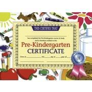 """Hayes® pre-kindergarten Certificate, 8 1/2""""(L) x 11""""(W)"""