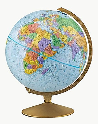 The Explorer Political Raised Relief Classroom Globe, 12