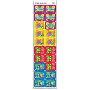Trend Enterprises® Applause Stickers, Bright Butterflies