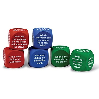Learning Resources Reading Comprehension Cubes (LER7022)