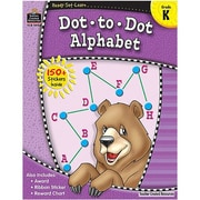 Ready•Set•Learn: Dot-to-Dot Alphabet, Kindergarten