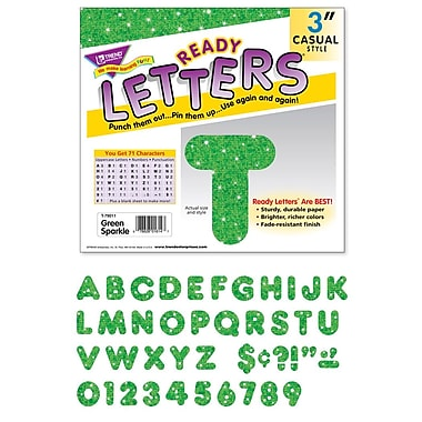 Trend Enterprises Ready Uppercase Letter, 3