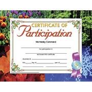 "Hayes® Certificate of Participation, 8 1/2"" x 11"" Grades Kindergarten - 9th"