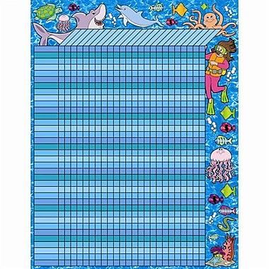 Teacher's Friend® Incentive Chart, Ocean Adventure!