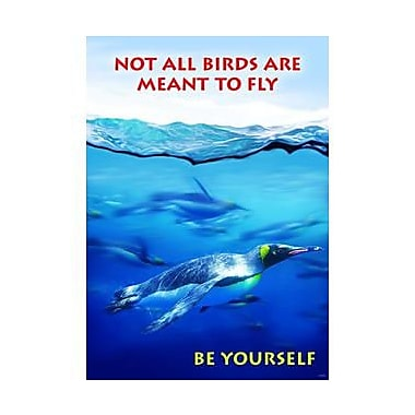 Trend Enterprises® ARGUS® Poster, Not All Birds Are Meant To Fly