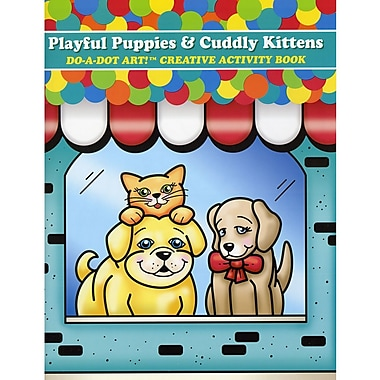 Do-A-Dot Art Playful Puppies and Cuddly Kittens Book