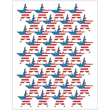Teacher Created Resources® Stars Stickers, Large Flag