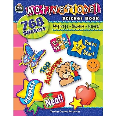 Teacher Created Resources® Stickers Book, Motivational