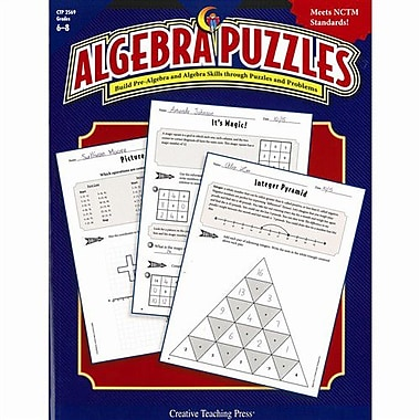 Creative Teaching Press Algebra Puzzle, Grades 6th - 8th