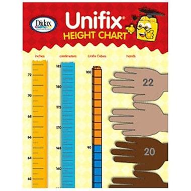 Didax® Unifix® Height Chart, Grades Kindergarten - 5th