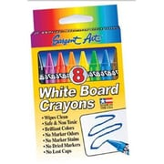 Sargent Art® Standard Regular Whiteboard Crayon, 8/Box (SAR350521)