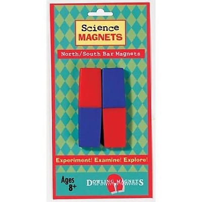 Dowling Magnets® North/South Bar Magnet, 3