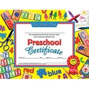 """Hayes® pre-school Certificate, 8 1/2""""(L) x 11""""(W), Laser Print"""