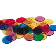 Learning Resources® Transparent Color Counting Chips