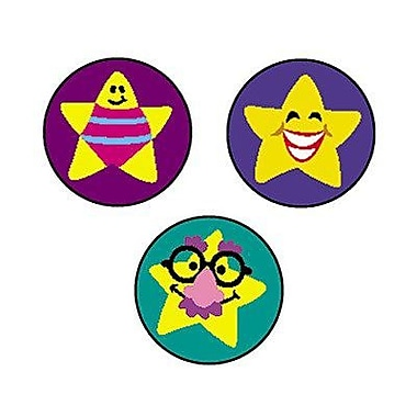 Trend Enterprises® SuperSpots® Stickers, Silly Stars