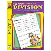 Remedia® Division Easy Timed Math Drills Book, Grades 1st - 3rd