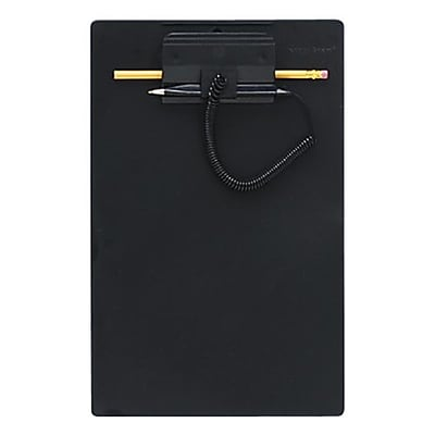 MMF Industries™ Wedgy® Clipboard With Pen, Blue