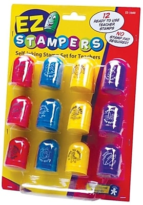Educational Insights® Self-Inking Teacher Stamp Set
