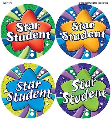 Wear 'Em Badges, Star Student