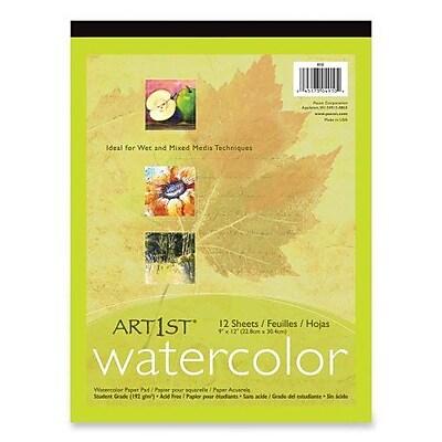 Pacon® Art1st® White Watercolor Pad, 14