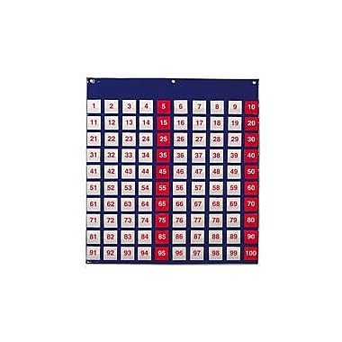Learning Resources® Hundred Pocket Chart, 27 1/2in.(H) x 26in.(W)