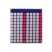 """Learning Resources® Hundred Pocket Chart, 27 1/2""""(H) x 26""""(W)"""