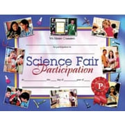 "Hayes® Science Fair Participation Certificate, 8 1/2""(L) x 11""(W)"