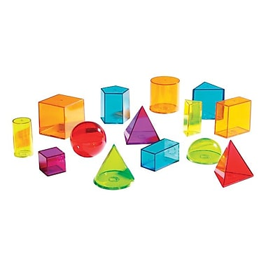 Learning Resources® View-Thru Geometric Solids