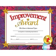 "Hayes® Improvement Award Certificate, 8 1/2""(L) x 11""(W)"