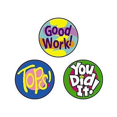 Trend Enterprises® SuperSpots® Stickers, Cheer Words