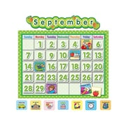 Teacher Created Resources® School Calendar Bulletin Board, Polka Dot