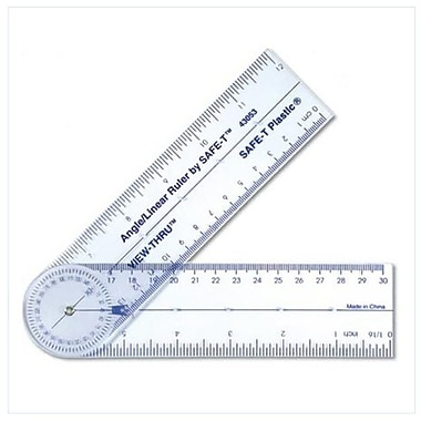 Learning Resources® Angle/Linear Ruler