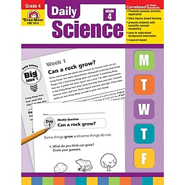 Evan-Moor® Teacher's Edition Daily Science Book, Grades 4th
